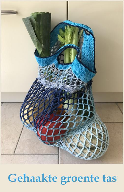 Gehaakte Groente tas – Crocheted Grocery bag