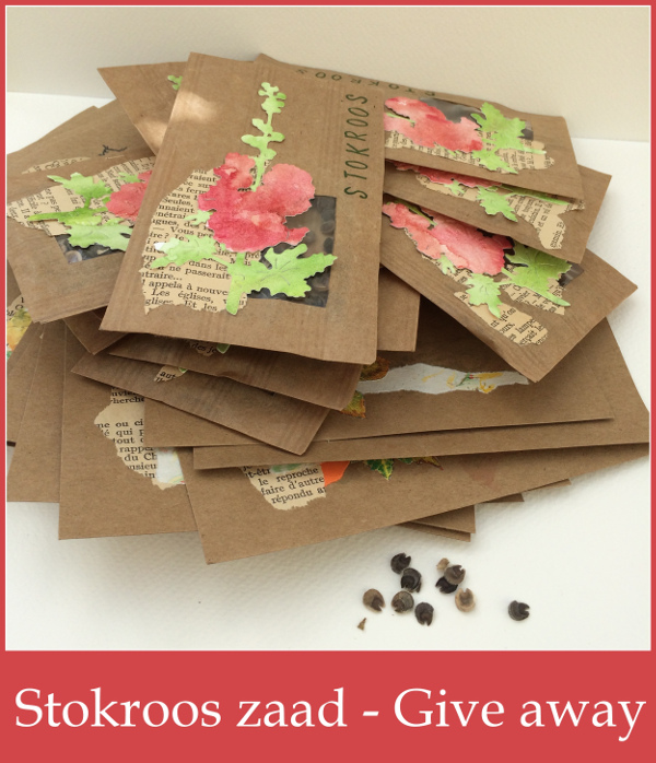 Give away – Stokroos zaad – Hollyhock seed